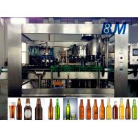 China Soda Water / Beverage Filling Equipment , 500ml Industrial Filling And Capping Machine on sale