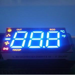 Triple Digit Multiple Colour Common Cathode Seven Segment Display Home Applicaties Manufactures