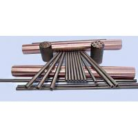 Wolfram Copper Alloy High - Voltage Electrode W80Cu20 For Resistance Welding Manufactures