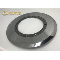 Buy cheap 300*160*3.3 Zhuzhou Mingri manufacturer tungsten carbide slitter blade special from wholesalers