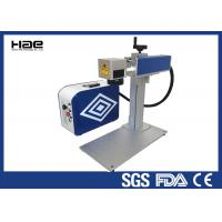 China Portable 20W Fiber Laser Marking Machine 1064 nm Wavelength For All Metal on sale
