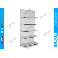 China Single Side Retail Display Shelves With Perforated Back Panel CE on sale