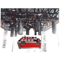 Reflective And Noctilucence Eight Channel Rack Flight Case Of Motor Chain Hoist Power Case Manufactures