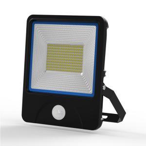 360 Body Sensor 100W Outdoor LED Flood Lamps High Sensitivity for Hallway Lighting Manufactures
