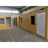 20ft Sandwich Panel Premade Container Homes / Movable Container House ISO9001 Manufactures