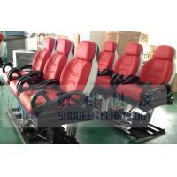 3D / 4D / 9D Motion Theater Chair Custom Color with Safe Belt Manufactures