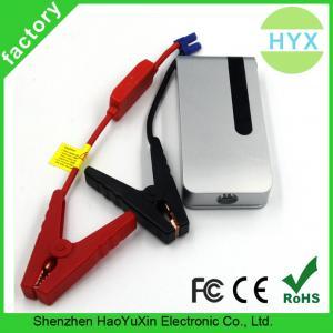 Fashionable 12V 12000mah emergency multi-function mini portable car jump starter with SOS warning lighting