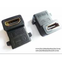 Right Angled HDMI Female to Female, 90 Degrees, F-F Coupler Adaptor Extender Manufactures