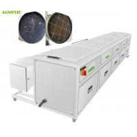 Diesel Particulate Filter Cleaning Industrial Washing Machine With Drying system Manufactures