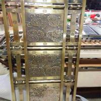 Mordern design carved decorative screen stainless steel/aluminum/metal panels Manufactures