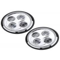 "China Round 7""  Off Road LED Headlights E4 Approval Replace Most Par56 Headlamps wholesale"
