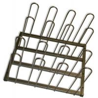 China Metal Display Vinyl Roll Wall Rack / Industrial Wall Mount Vinyl Storage Rack on sale
