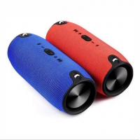OEM  Portable  TF USB AUX FM cylinder blue tooth speaker Manufactures
