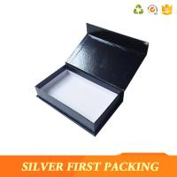 Silver First  accept custom made logo printing decorative book shape magntic paper storage gift boxes Manufactures