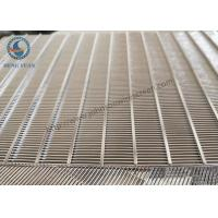 304 Stainless Steel Sieve Screen Slot Screen Panel 500 Mm Length Manufactures