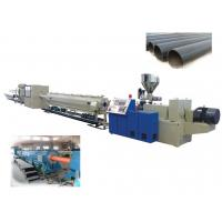 Automated Large Diameter Plastic PE Pipe Production Line SJGZ160 / Φ50 ~ Φ160 Manufactures