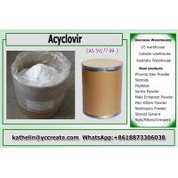 Pharmaceutical Raw Materials White Powder Acyclovir For  Antiviral 59277-89-3 Manufactures