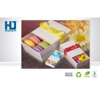 Rigid Elegant Favor Ribbon Slide Open Cardboard Packing Boxes for Chocolate / Candy / Cookies Manufactures