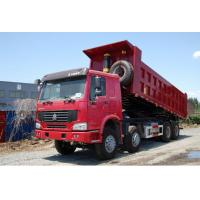 Quality China famous HOWO 8*4 LHD/RHD 40tons dump tipper truck for sale, factory sale best price SINO TRUK HOWO tipper truck for sale
