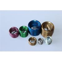 Quality M4 M8 M10 M12 etc fastener ISO screw threaded insert with different colors for sale