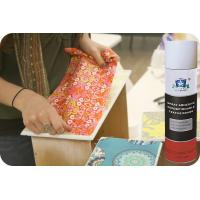 Repositionable Fabric Adhesive Spray No CFC Textile Spray Contact Adhesive Manufactures
