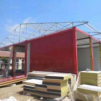 Professional Prefabricated frame flat pack steel structure container house Manufactures