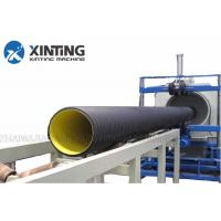 SBG250 Siemens Motor Corrugated Pipe Machine, PP / HDPE Pipe Extrusion Line Manufactures