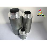 Hydroponic Carbon Cartridge Air Filter Silvery Portable High Efficiency Manufactures