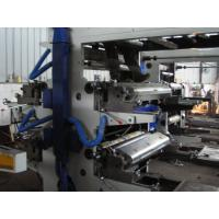 Plastic Film / Bag Printing Machine 4 Color Flexographic Printing press Manufactures