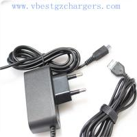 OEM Euro pin ABS Black mobile phone charger 0.7a with 1.5 meter cable for phones Manufactures