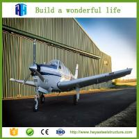 2017 China Prefabricated Mild Steel Aircraft Hangers Shed Warehouse Building For Sale Manufactures