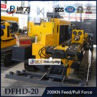 Widely Used DFHD-20 Horizontal Directional Drilling Machine HDD Rigs Manufactures