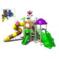 China Colorful Galvanized Pipe And LLDPE Kids Water Slides Outdoor Park For Water Equipment on sale