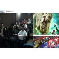 Customized 4D Movie Theater With Simulator System, 2 / 3 Seats / Set Motion Chair Manufactures
