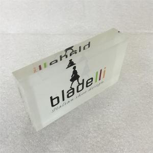 Acrylic Block, Plexiglass Plaque, Perspex Sign paperweight Manufactures