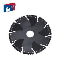 PVC Iron Ductile Steel Rebar Vacuum Brazed Diamond Tools Rescue Demolition Blade Manufactures