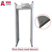 18 Zones LED Walk Through Body Door Frame Metal Detector for Security Checking Manufactures