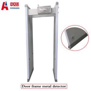 Full Body Metal Detectors Door , 18 Zones Walk Through Security Metal Detectors Manufactures
