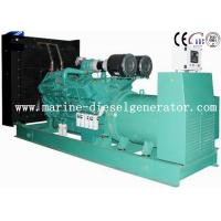 1500KVA Cummins Diesel Generator Turbo Charging With Inter - Cooling By Electric Start Manufactures