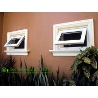 Double glazing Upvc windows,awning windows, PVC top hung window Manufactures