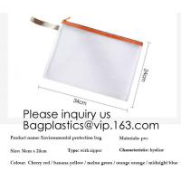 Small fresh transparent frosted pencil bag Simple jelly plastic color matching student pencil case stationery pencil bag Manufactures