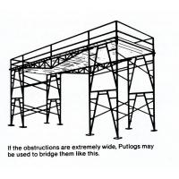 China Adjustable Stackable Fast Lock 4' * 6' Shoring Scaffolding Heavy - Duty / Light - Duty on sale