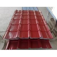 China Green Recycable Metal Roofing Sheet , Coloured Roofing Sheets on sale