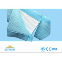 Nonwoven Hospital Disposable Bed Pads For Elderly / Adults , 60*90cm Size
