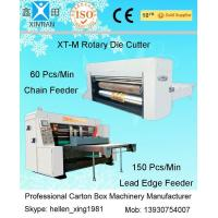 China Electric Digital Rotary Die Cutting Corrugated Carton Box Packaging Machine on sale