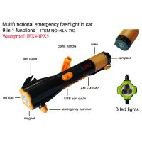 Emergency torch with hammer in car Manufactures