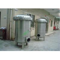 Quality Stainless Steel Bag Filter Vessel Tank With SS304 / SS316 Material For Filtration System for sale