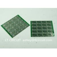 Four Layer Multilayer Printed Circuit  Custom Pcb Board 0.8MM Green Solder Mask Manufactures