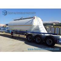 Big Capacity 40 M3 Dry Bulk Tanker Trailer 3 Axle Container Semi Trailer Manufactures