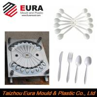 China High quality plastic spoon mould, knife mould and fork mould made in China mould factory on sale